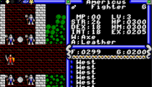 Ultima IV Character Stats