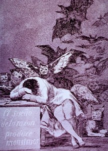 The Sleep of Reason by Goya